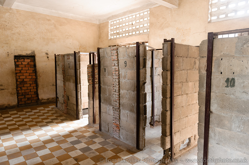 The S-21 Prison Museum (Tuol Sleng Museum of Genocide), Phnom Penh.